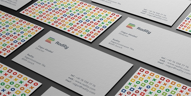 Radity Business Card / Logo Design