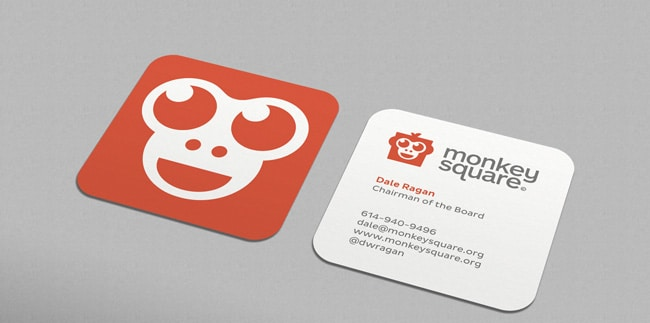 Monkey Square Business Card