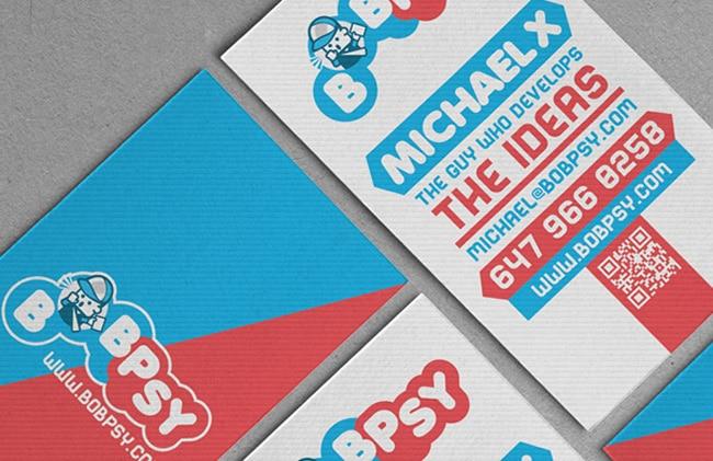 Awesome examples of business card design designrfix bobpsy logo business card design reheart Choice Image