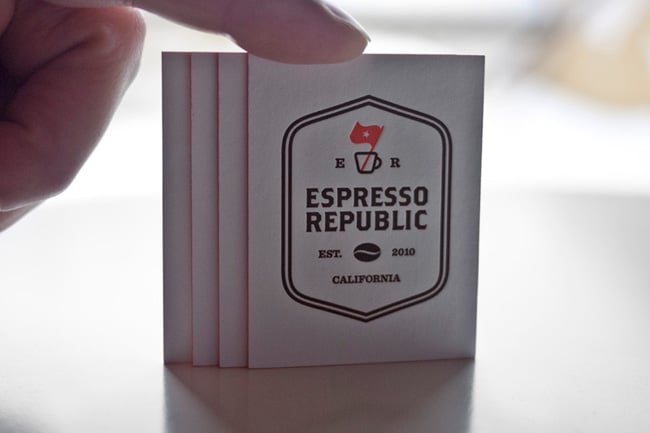 Espresso Republic Card
