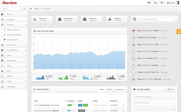 Stardom - Bootstrap Admin Dashboard Theme