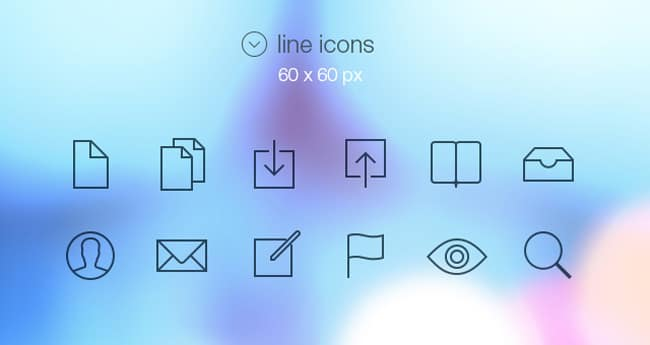Tab Bar Icons iOS 7 | Media Icons