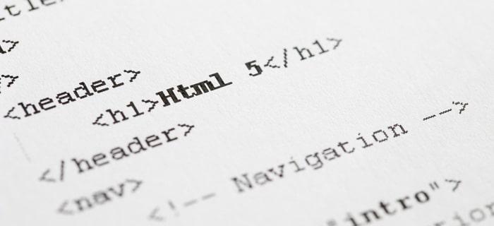HTML5-code