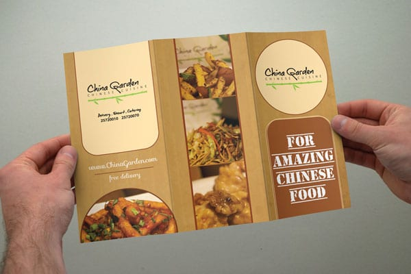 Beautiful printed leaflet designs for your inspiration