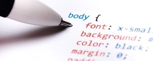 writing code