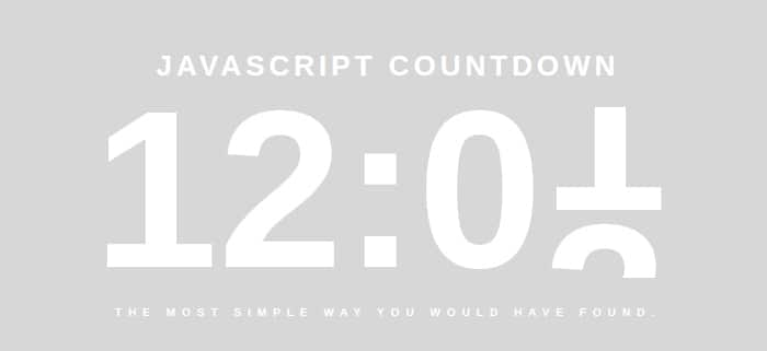 Freebie: 20 CSS3 And JQuery Countdown Timer Scripts
