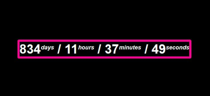 countdown timer jquery free