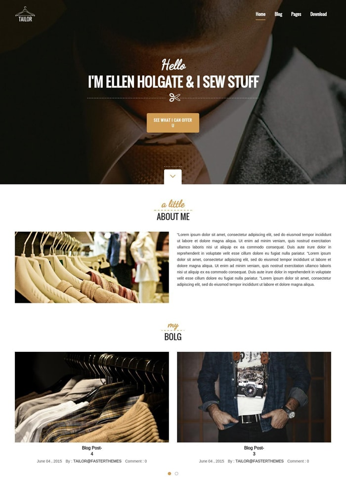 12-tailor-free-wordpress-theme