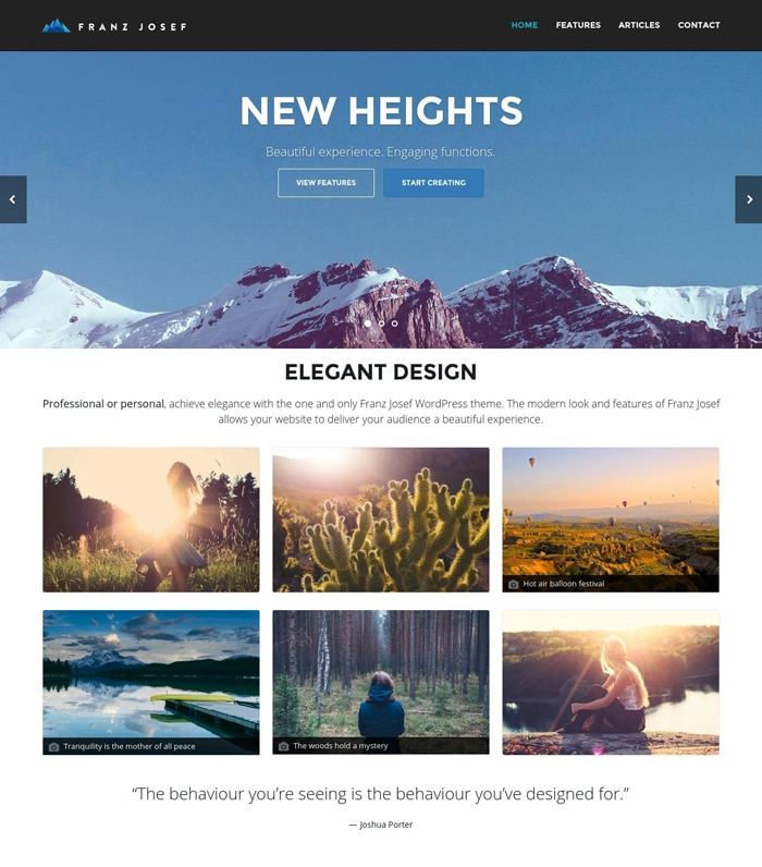 7-franz-josef-free-wordpress-theme