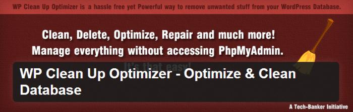 WP Clean Up Optimizer