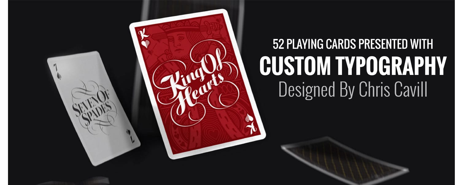 The Typography Lover's Playing Cards