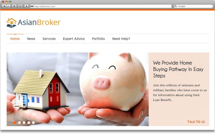 asian-broker-wordpress-theme