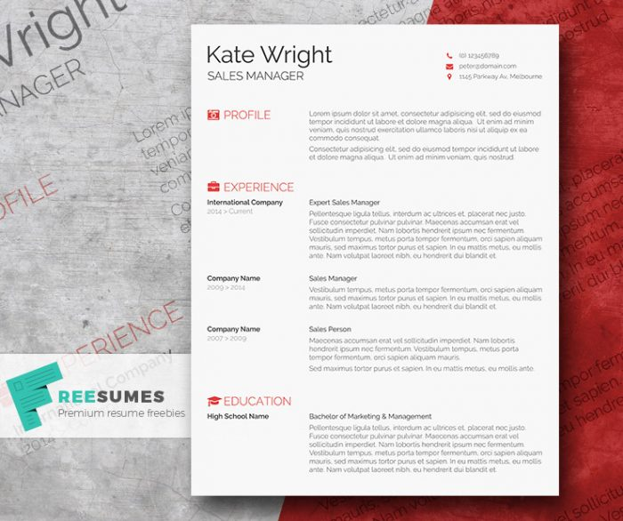 elegant-resume-design