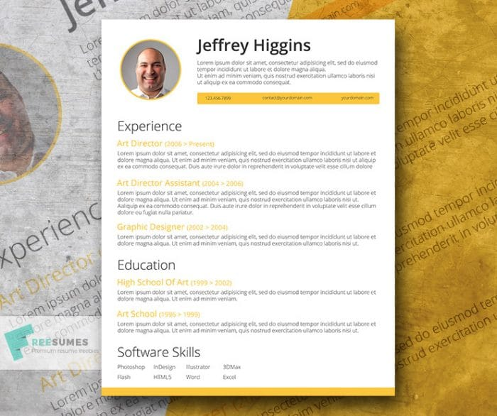 lemon-resume-template