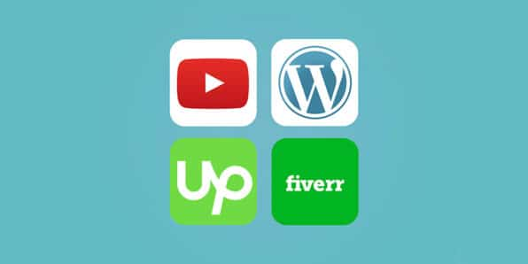 Freelancing with Youtube, WordPress, Upwork, and Fiverr