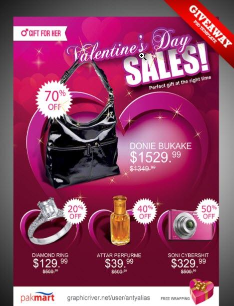 25 free and creative valentine s day design templates for 2018