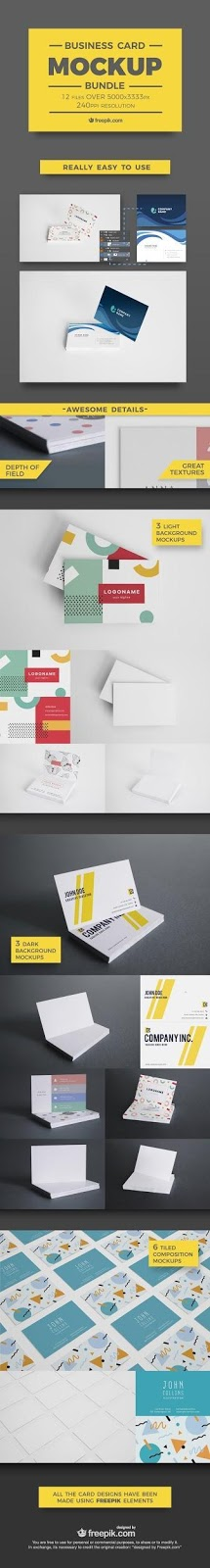 Professional business card mockup bundle freepik designrfix find more mockups for all your designs at freepik from merchandising to web design to shirts and mugs there are mockups for everything reheart Images