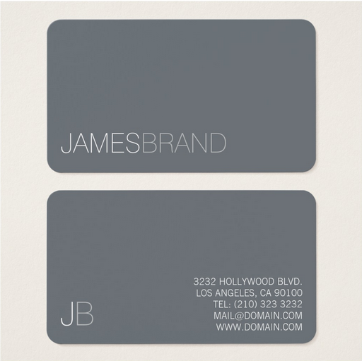The Ten Best Examples Of Minimalist Business Cards To Make A Lasting