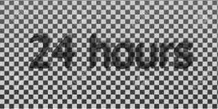 Transparent typography