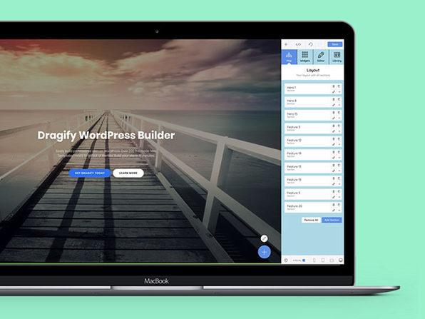 Dragify WordPress Builder: Lifetime Subscription