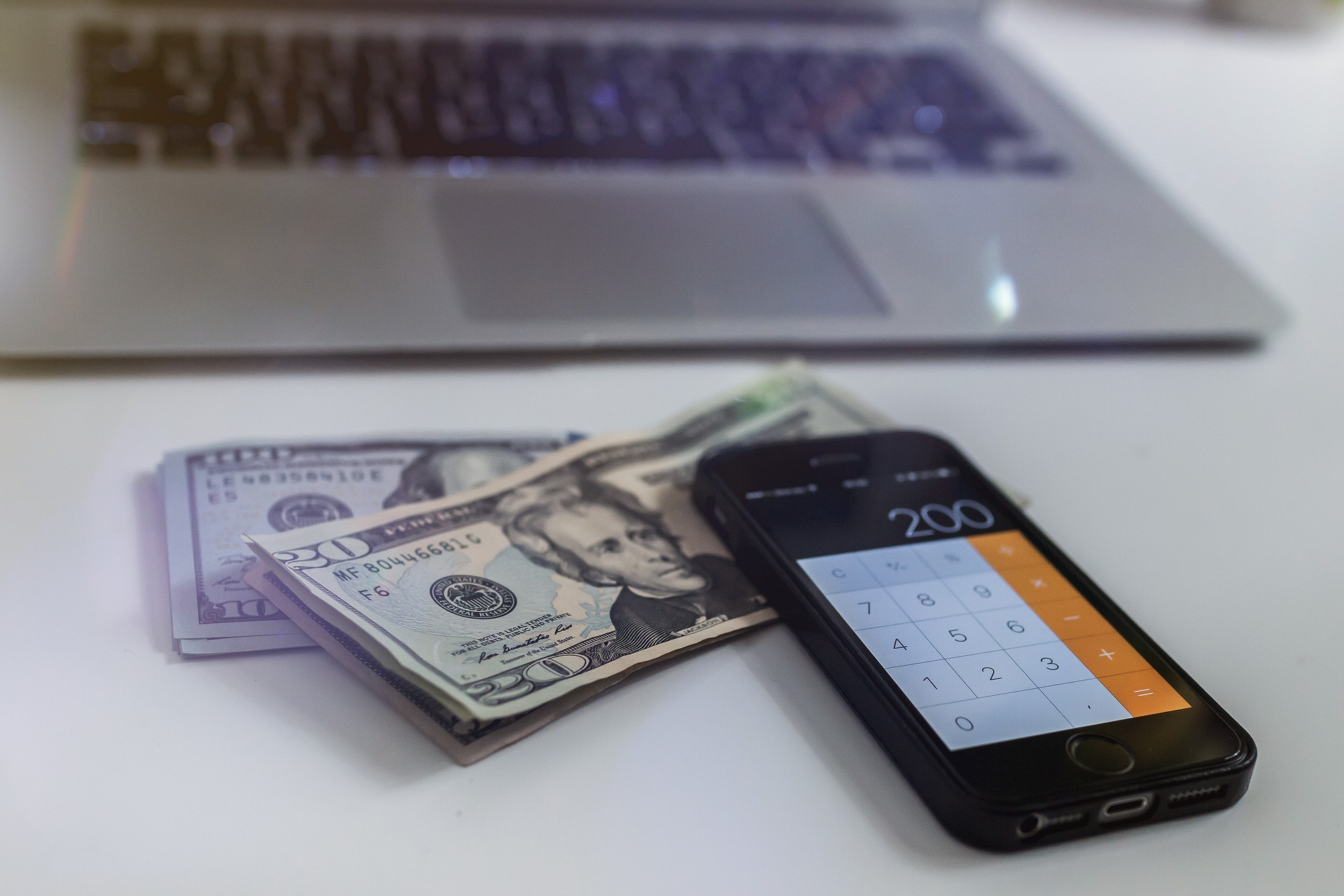 money and gadgets