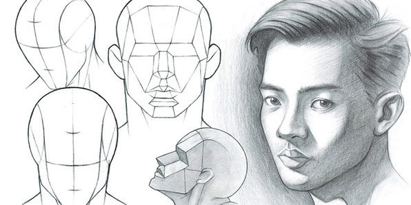 Portrait Drawing Fundamentals Made Simple